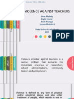 Violence Against Teacher.pptx
