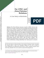 A Case Study on Balochistan