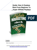 Paul P. - Affiliate Marketing