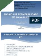 Ensaio de permeabilidade - MARISTELA .pptx