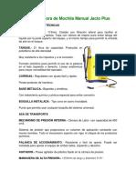 Pulverizadora-de-Mochila-Manual-Jacto-Plus