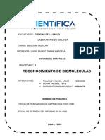reconocimiento de biomoleculas  FINAL
