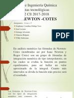Expo grupo 5 newton cotes nuevo