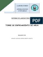 Andrea Armijos-Informe 6. Torre de Enfriamiento