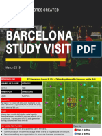 FC Barcelona Study Visit Session Notes