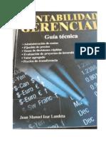 Calculo del EVA del libro Contabilidad Gerencial JUAN IZAR