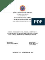 Asignación 1 - estudio hidrologico