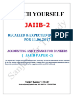 JAIIB2- 2 LATEST CHANGES  RECALLED & EXPECTED QUESTIONS