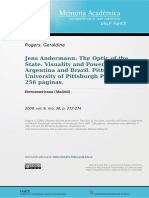 Reseña sobre Jess Anderman
