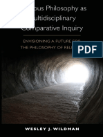 Wesley J. Wildman - Religious Philosophy as Multidisciplinary Comparative Inquiry_ Envisioning a Future for the Philosophy of Religion  -SUNY Press (2010)