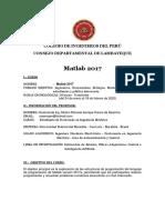 SYLLABUS-Matlab