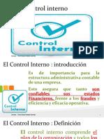El Control interno victor Morales