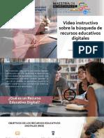 Búsqueda de Recursos Educativos Educativos Digitales