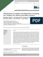 110303 paper Arango Antipsychotics in children and adolescents increasing use evidence