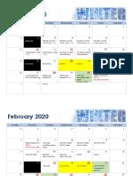 calendar   jan-mar