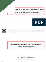 4 Curso Norma de Cemento NMX-C-ONNCCE-414 Rev 1(23)