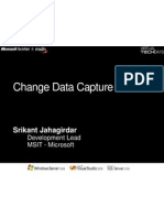 Capturing Changed Data Using SQL Server 2008 - Srikant Jahagirdar