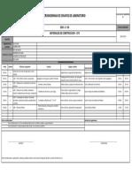 1. Cronograma ensayos laboratorio - Materiales de Construccion