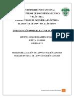 FACTOR DE POTENCIA EN VIVIENDAS L - 6EV3