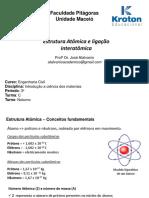 Estrutura Atômica e ligação interatômica.pdf
