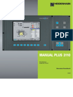 HEIDENHAIN MANUAL PLUS 3110