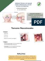 TUMORES NASOSINUSALES Y RINOFARINGE.pptx