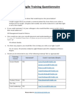 Intro to Agile Training Questionnaire V5.0 - dah