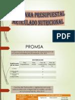 EVALUACION DE INDICADORES PROMSA 2019