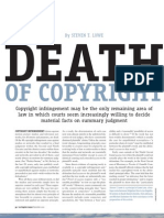 Death of Copyright - Steven T. Lowe (Lowe Law, P.C.)