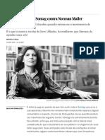 A feminista Susan Sontag contra Norman Mailer _ Cultura _ EL PAÍS Brasil