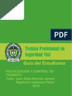 TPSV 16 FISCALIZACION Y CONTROL DE TRÀNSITO