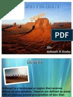 English Project (DESERT)