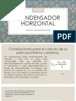 Condensador horizontal