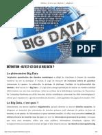 Définition _ Qbig datau'Est-ce Que Le Big Data _ - LeBigData.fr