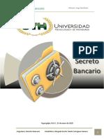 EL SECRETO BANCARIO EN HONDURAS