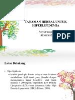 TANAMAN HERBAL UNTUK HIPERLIPIDEMIA (1).pptx
