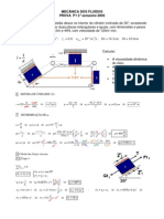 P1 - Mecânica dos Fluidos 2º semestre 2005