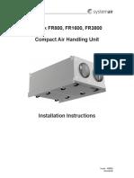 400896 Topvex FR Installation Instructions