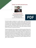 """Análisis literario del cuento """"los merengues"""" de Julio Ramón Ribeyro"""