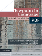 (Cambridge Studies in Cognitive Linguistics) Barbara Dancygier, Eve Sweetser - Viewpoint in Language_ A Multimodal Perspective-Cambridge University Press (2012)