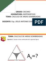 AREAS SOMBREADAS