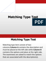 Assessment Matching and True or False Type Test.pptx