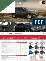 Ficha Técnica - Ficha técnica Toyota Rav4 sport