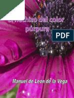 Manuel de Leon de la Vega - El hechizo del color purpura.pdf