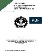 PROPOSAL REHAB TOTAL 2 LANTAI SDN HEGARMUKTI 03, CIKARANG PUSAT