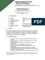 SÍLABO 2019 tesis 2 UAC