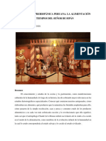 GASTRONOMÍA PREHISPÁNICA PERUANA. LA ALIMENTACIÓN EN TIEMPOS DEL SEÑOR DE SIPÁN