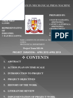 ME 06 Project final ppt