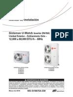 U-MATCH 16SEER M.INSTALACION CONDENSADORA (2019) MS-SVN057A-EM_03062019 (1)