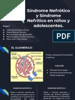 Síndrome Nefrotico y nefritico